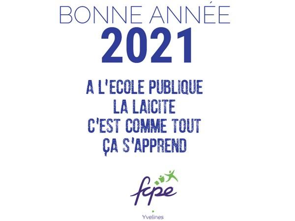 Voeux FCPE 78